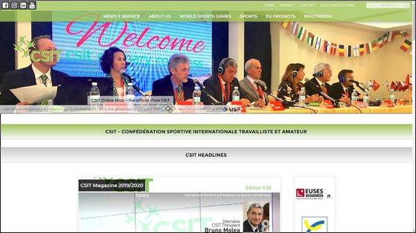 Screenshot der Webseite www.csit.tv